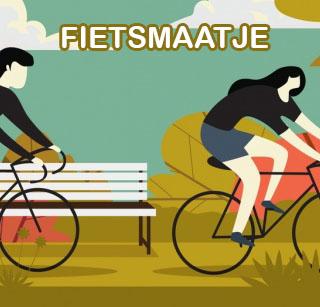 Nynke zoekt fietsmaatje