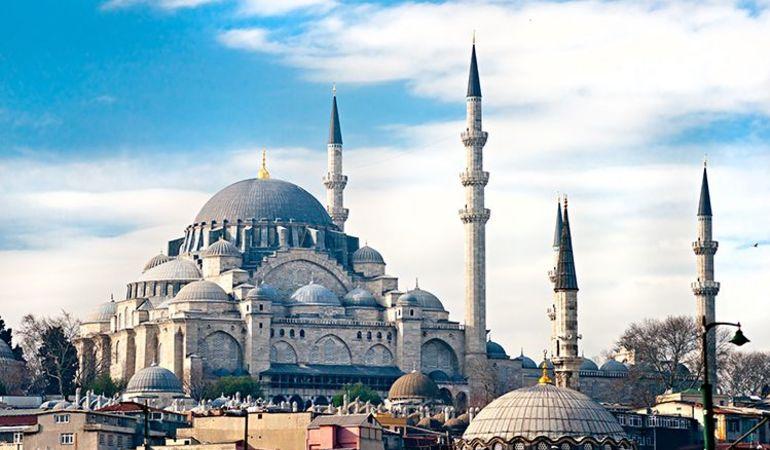Süleymaniya Moskee Istanbul