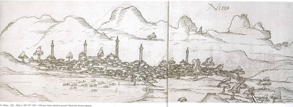 Niš, 16e c. sketch