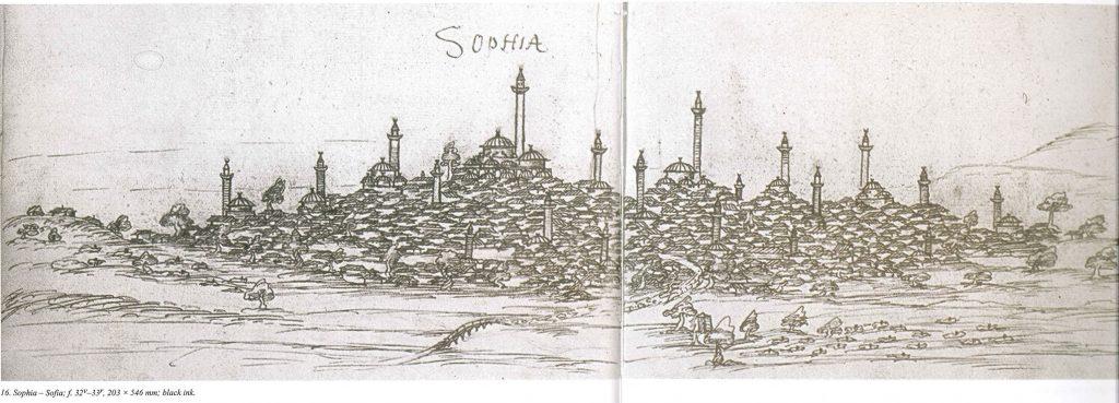 Sofia, sketch 16th c.