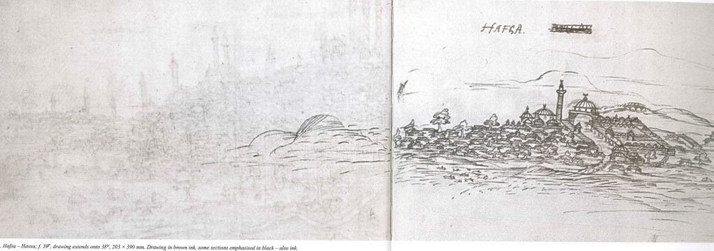Havsa 16th c.sketch