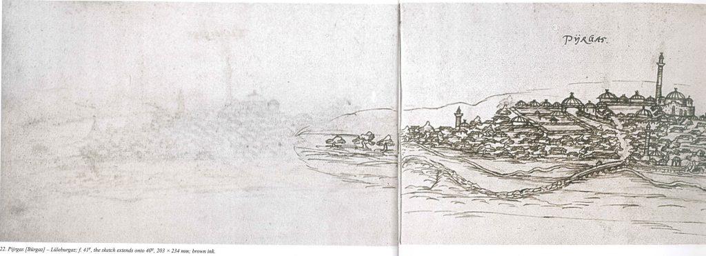 Lüleburgaz, 16th c. sketch